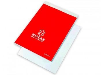 BLOC NOTAS FOLIO CON TAPA LISO LOAN MOD.T-501/B