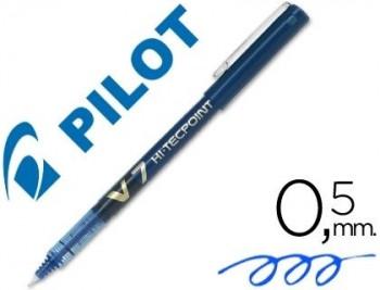 ROTULADOR PILOT PUNTA AGUJA V-7 AZUL 0.7 MM