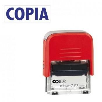 SELLO AUTOMATICO FORMULA COLOP PRINTER C20 38X14 MM \cCOPIA\c