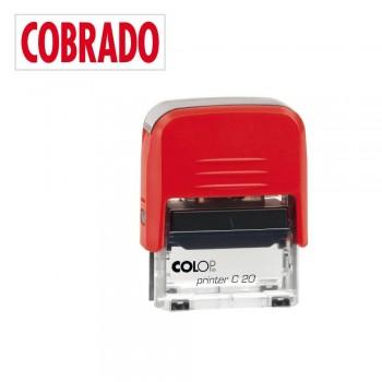 SELLO AUTOMATICO FORMULA COLOP PRINTER C20 38X14 MM \cCOBRADO\c