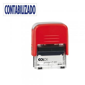 SELLO AUTOMATICO FORMULA COLOP PRINTER C20 38X14 MM \cCONTABILIZADO\c