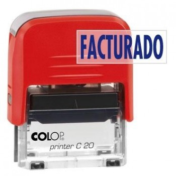SELLO AUTOMATICO FORMULA COLOP PRINTER C20 38X14 MM \cFACTURADO\c
