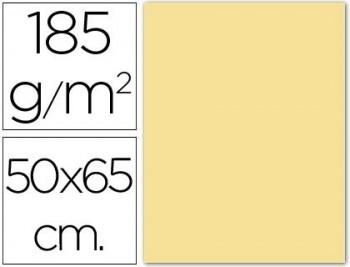CARTULINA 50X65 185 G. CREMA