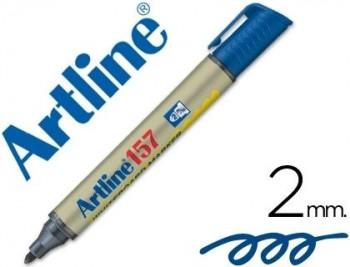 ROTULADOR ARTLINE PIZARRA EK-157 AZUL COD 22097