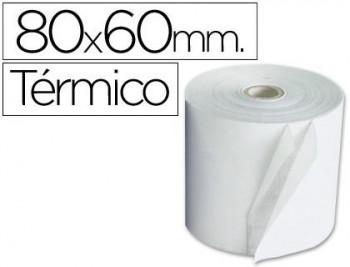ROLLO SUMADORA TERMICO Q-CONNECT 80 X 60 MM COD 97018