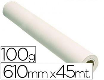 PAPEL REPROGRAFIA GRAFIC 100 GRS. PARA PLOTTER -PAPEL ESTUCADO BLANCO MATE 610X45 MTS. 1440 DPI COD.