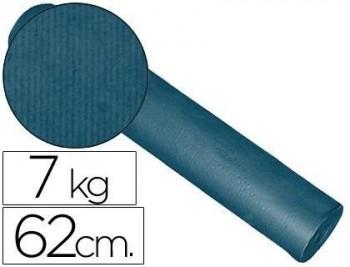 PAPEL FANTASIA KRAFT LISO KFC -BOBINA 62 CM -7 KG -COLOR COBALTO COD 27027