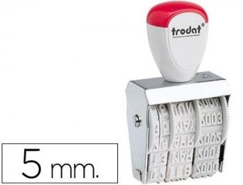 FECHADOR TRODAT 1020 DE 5 MM COD 3306