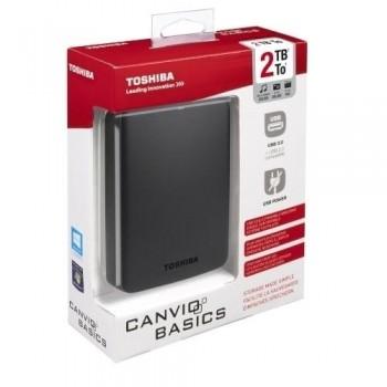 DISCO DURO EXTERNO TOSHIBA CANVIO BASICS 2.5 2TB USB 3.0