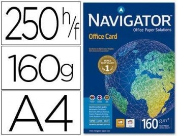 P/ PAPEL 250 H. DIN A4 NAVIGATOR OFFICE CARD 160 GRS