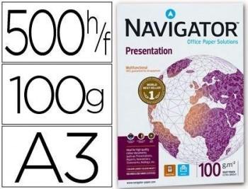 P/ PAPEL 500 H. DIN A3 NAVIGATOR PRESENTATION 100 GRS