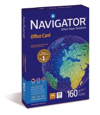 P/ PAPEL 250 H. DIN A3 NAVIGATOR 160 GRS OFFICE CARD