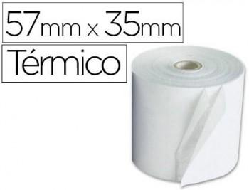 ROLLO PAPEL TERMICO 57X35