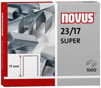 C/ 1.000 GRAPAS NOVUS 23/17 SUPER