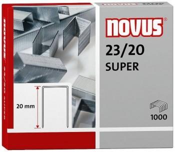 CAJA 1.000 GRAPAS NOVUS 23/19 SUPER