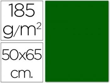 CARTULINA 50X65 185 G. VERDE BILLAR