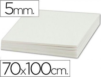 CARTON PLUMA LIDERPAPEL DOBLE CARA 70X100 ESPESOR 5 MM COD 35833