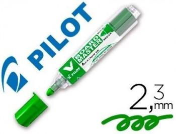 ROTULADOR PILOT VBOARD MASTER PARA PIZARRA BLANCA VERDE TINTA LIQUIDA TRAZO 2,3MM COD 47185