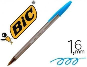 BOLIGRAFO BIC CRISTAL FUN LARGE FASHION TURQUESA PUNTA 1,6 MM COD 62794