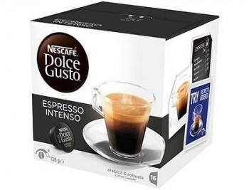 CAFE DOLCE GUSTO CAFE ESPRESSO INTENSO MONODOSIS CAJA DE 16 UNIDADES COD 59716
