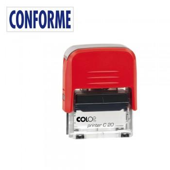 SELLO AUTOMATICO FORMULA COLOP PRINTER C20 38X14 MM \cCONFORME\c