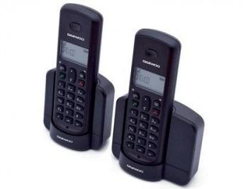 TELEFONO DAEWOO INALAMBRICO DTD-1350D DUO PANTALLA RETROILUMINADA MANOS LIBRES IDENTIFICACION LLAMAD