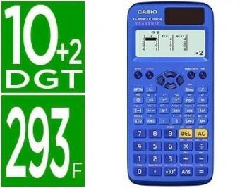 CALCULADORA CASIO FX-85SPX II IBERIA CLASSWIZ CIENTIFICA 293 FUNCIONES 8+1 MEMORIAS 10+2 DIGITOS CON