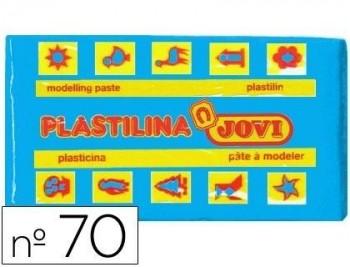 PLASTILINA JOVI 70 AZUL CLARO -UNIDAD -TAMAÑO PEQUEÑO COD 22132
