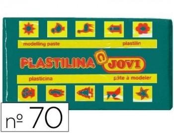PLASTILINA JOVI 70 VERDE OSCURO -UNIDAD -TAMAÑO PEQUEÑO COD 22129