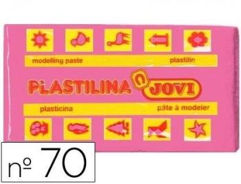 PLASTILINA JOVI 70 ROSA -UNIDAD -TAMAÑO PEQUEÑO COD 22128