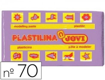 PLASTILINA JOVI 70 LILA -UNIDAD -TAMAÑO PEQUEÑO COD 22119