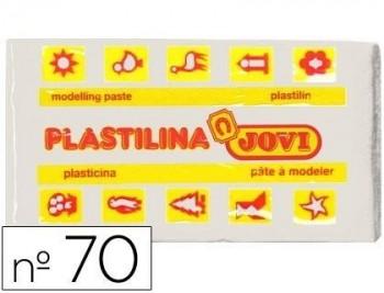 PLASTILINA JOVI 70 BLANCA -UNIDAD -TAMAÑO PEQUEÑO COD 22121