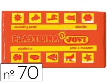 PLASTILINA JOVI 70 NARANJA -UNIDAD -TAMAÑO PEQUEÑO COD 22126