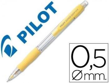 PORTAMINAS PILOT SUPER GRIP H-185 AMARILLO COD. 38064