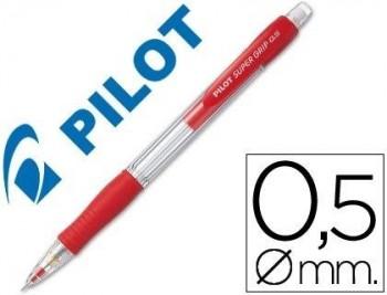 PORTAMINAS PILOT SUPER GRIP H-185 ROJO COD. 38060