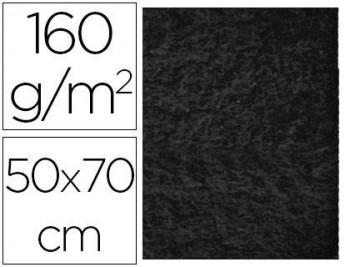 FIELTRO LIDERPAPEL 50X70CM NEGRO 160G/M2 COD 58675