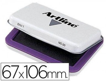 TAMPON ARTLINE Nº 1 VIOLETA -67X106 MM COD 9699