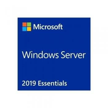 MICROSOFT WINDOWS SERVER 2019 ESSENTIALS - LICENCIA - 1 SERVIDOR (1-2 CPU) - OEM - DVD - 64-BIT - ES