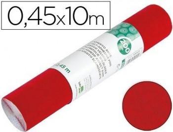 ROLLO ADHESIVO LIDERPAPEL ESPECIAL ANTE ROJO ROLLO DE 0,45 X 10 MT COD 59411