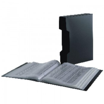 CARPETA 80 FUNDAS CLEAR BOOK FELLOWES LEONARDI 40318