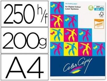PAPEL FOTOCOPIADORA COLOR COPY DIN A4 200 GRAMOS PAQUETE DE 250 HOJAS COD 29244