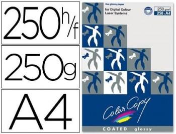 PAPEL FOTOCOPIADORA COLOR COPY GLOSSY DIN A4 250 GRAMOS PAQUETE 250 HOJAS COD 31680