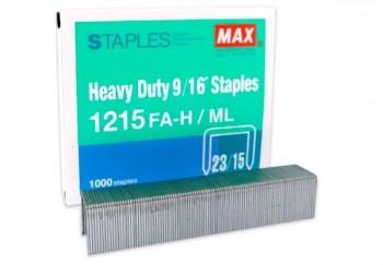 C/ 1.000 GRAPAS 23/15 MAX HEAVY DUTY 9/16\c