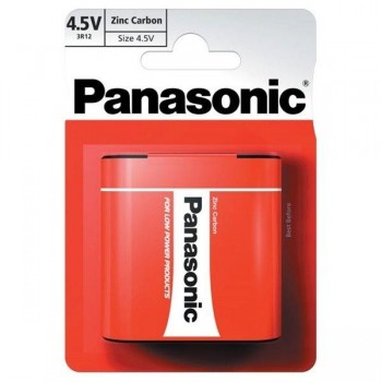 BLISTER 1 PILA PETACA PANASONIC ZINC CARBON 3R12 4,5V