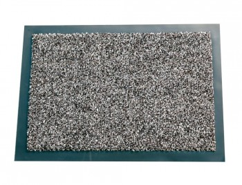 ALFOMBRA FAST-PAPERFLOW ANTIPOLVO GRIS BASIC 90X150 CM COD 43543