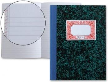 LIBRO 100 HOJAS MIQUELRIUS CARTONE 3056 CUARTO NATURAL RAYADO HORIZONTAL