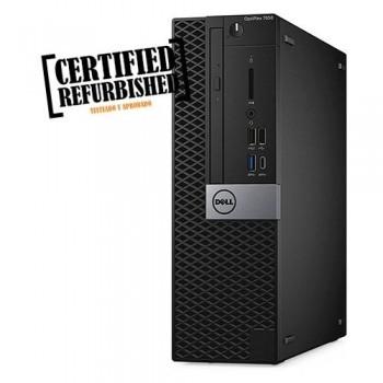 ORDENADOR REACONDICIONADO DELL PC OPTIPLEX 7050 SFF - INTEL CORE I5-6500 - 16 GB - 256 GB SSD - DVD