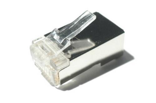 BOLSA 10 CONECTORES NANOCABLE RED RJ45 CAT 6 FTP