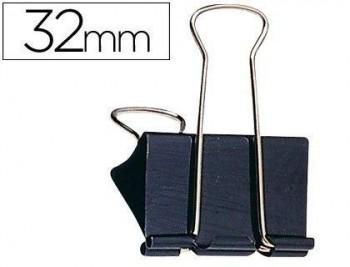 CAJA 12 PINZAS ABATIBLES 32 MM SPAPER