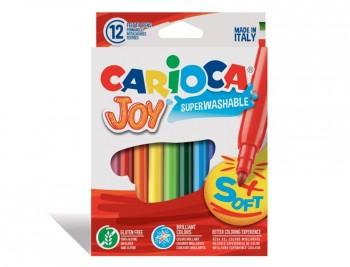 ROTULADOR CARIOCA JOY CAJA DE 12 COLORES  COD 13257